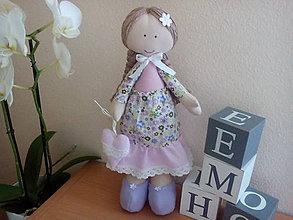Bábiky - Margarétka Ružová - 8208012_