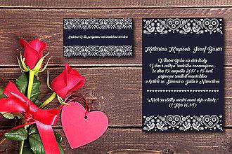 Papiernictvo - Svadobné oznámenie 2 - 8206217_