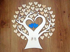 Dekorácie - svadobná kniha hostí/drevený strom 1 - 8209134_