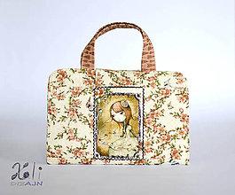 Detské tašky - Pastelkovník - detský kufrík na kreslenie Mirabelle II. - 8208653_