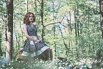 Šaty - Modrotlač - šaty - 8207180_