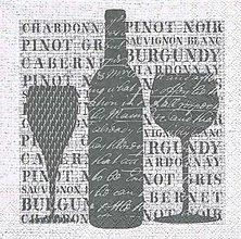 Papier - víno - 8207976_