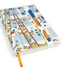 Papiernictvo - Zápisník A6 Sušenie Prádla - 8207004_