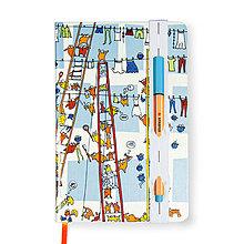 Papiernictvo - Zápisník A6 Sušenie Prádla - 8207006_