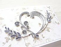 Papiernictvo - svadobná pohľadnica - 8205873_