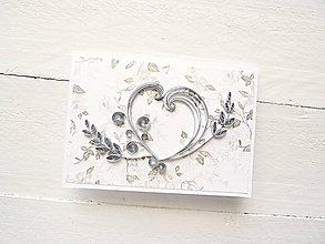 Papiernictvo - svadobná pohľadnica - 8205874_