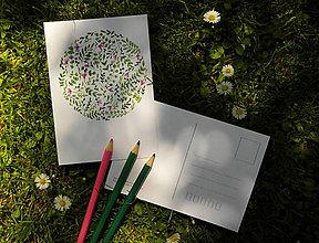 Papiernictvo - pohľadnica: r a s t l i n k y - 8211774_