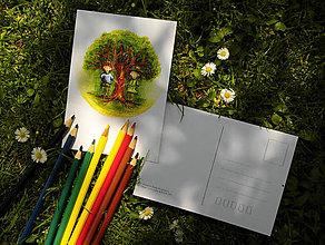 Papiernictvo - pohľadnica: ľ ú b e n í - 8211893_