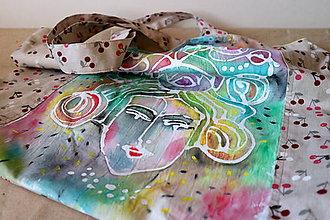 Veľké tašky - čerešňová slečna - 8211666_