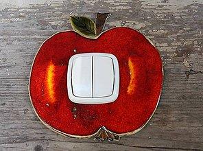 Tabuľky - kryt na vypínač jabĺčko - 8210662_