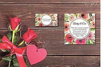 Papiernictvo - Svadobné oznámenie 3 - 8211320_