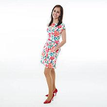 Šaty - Dámske šaty - Roses - 8210474_