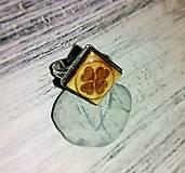 """Prstene - Prsteň """"Štvorlístok"""" (hranatý) - 8209950_"""