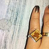 """Prstene - Prsteň """"Štvorlístok"""" (hranatý) - 8209953_"""