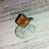 """Prstene - Prsteň """"Štvorlístok"""" (hranatý) - 8209955_"""