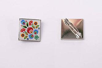 Odznaky/Brošne - folklórna brošňa - 8210560_