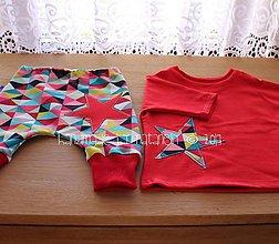 Detské súpravy - tepláčiky a mikinka pre dievčatko - 8209570_