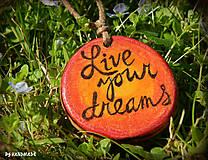 Náhrdelníky - Live your dreams - 8215642_