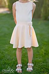 Sukne - Dievčenská suknička - 8214398_