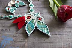 Náhrdelníky - Tyskysový náhrdelník - 8215800_
