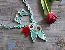 Náhrdelníky - Tyskysový náhrdelník - 8215801_