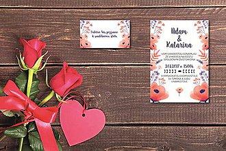 Papiernictvo - Svadobné oznámenie 4 - 8212902_