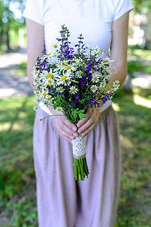Kytice pre nevestu - Lúčna svadobná kytica
