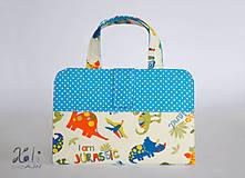- Pastelkovník - detský kufrík na kreslenie Dinosaurus - 8215417_