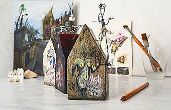 Socha - Miniatúrny domček