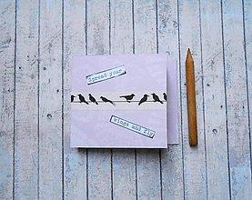 Papiernictvo - Fly/trhací zápisníček - 8213583_