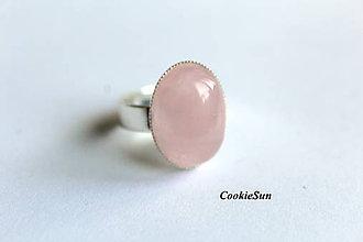 Prstene - Prsteň Ruženín - 8216192_