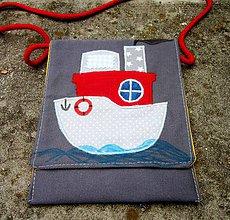 Detské tašky - Pre malého námorníka - taštička - 8214641_