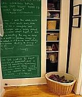 Nálepky na stenu - Tabuľa zelená 60 x 200 cm