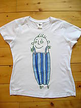 "Tričká - Tričko s neopakovateľným ""pandrlákom"" - 8217393_"