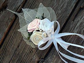 Pierka - Svadobné pierko pre ženícha, starejšieho - 8218525_