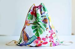 Batohy - Šnúrkový vak Floral - 8218740_