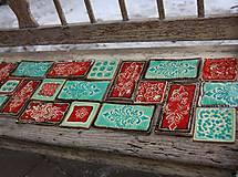 Dekorácie - keramická listela - 8216253_