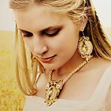 Sady šperkov - Golden Topaz - sutašková souprava - 8217845_