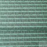 Textil - tmavozelené čiarky; 100 % bavlna Francúzsko, šírka 160 cm, cena za 0,1 m - 8217458_