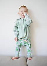 Detské oblečenie - Teplákový  kabátik - bio - 8217441_