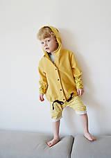Detské oblečenie - Teplákový  kabátik - bio - 8217443_
