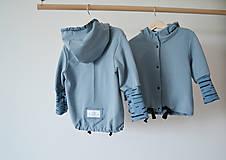 Detské oblečenie - Teplákový  kabátik - bio - 8217444_