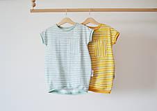 Detské oblečenie - Šaty neskôr tunika Pásik - 8217476_