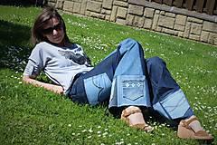 Nohavice - hippie rifle s vreckami - 8217713_