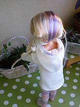 Bábiky - Mikinošaty pre Adelku a punčošky - 8218631_