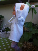 Bábiky - Mikinošaty pre Adelku a punčošky - 8218633_