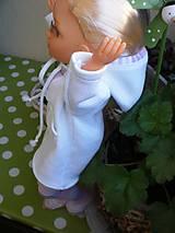 Bábiky - Mikinošaty pre Adelku a punčošky - 8218634_
