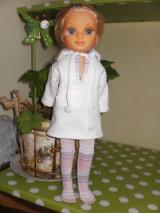 Bábiky - Mikinošaty pre Adelku a punčošky - 8218635_