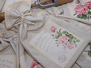 Úžitkový textil - ,,,ružičky.. - 8218594_