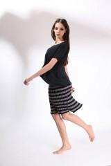 Sukne - letní bavlněná pruhovaná sukně COCA - 8216771_